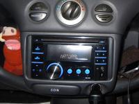 Фотография установки магнитолы JVC KW-XR417EE в Toyota Vitz