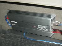 Установка усилителя MTX RT60.4 в Ford Maverick