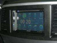 Фотография установки магнитолы Philips CID2680 в Mitsubishi Lancer X