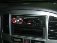 Фотография установки магнитолы Pioneer DEH-1410UB в Suzuki Grand Vitara