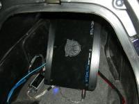 Установка усилителя Soundstream STL4.320 в Honda Silver Wing