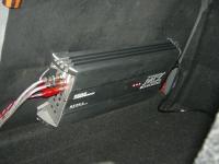 Установка усилителя MTX RT60.4 в Chevrolet Lacetti