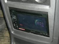 Фотография установки магнитолы Pioneer AVH-1400DVD в Daewoo Nexia