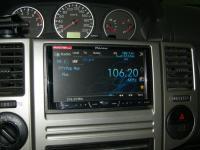 Фотография установки магнитолы Pioneer AVH-P3400DVD в Nissan X-Trail (T30)