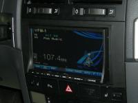 Фотография установки магнитолы Alpine INA-W910R в Volkswagen Touareg