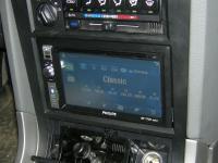Фотография установки магнитолы Philips CID2680 в TaGAZ Road Partner
