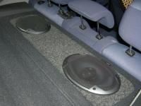 Установка акустики Alpine SPG-69C3 в Mitsubishi Carisma
