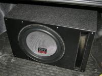 Установка сабвуфера MTX T612-22 vented box в Honda Accord