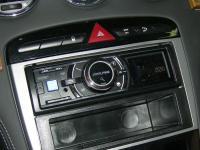 Фотография установки магнитолы Alpine iDA-X313 в Peugeot RCZ