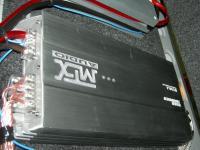 Установка усилителя MTX RT60.4 в Audi A6 (C6)