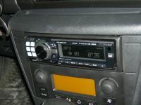 Фотография установки магнитолы Alpine CDE-9880R в Citroen C4