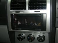 Фотография установки магнитолы Pioneer AVIC-F930BT в Dodge Nitro