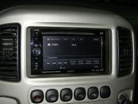 Фотография установки магнитолы Sony XAV-62BT в Ford Maverick
