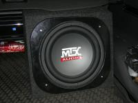 Установка сабвуфера MTX RT12-44 box в Opel Antara