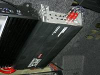 Установка усилителя MTX RT60.4 в Skoda Octavia (A5)