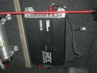 Установка усилителя MTX RT500.1D в BMW 1 (E87)