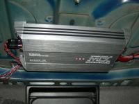 Установка усилителя MTX RT500.1D в BMW 5 (E39)