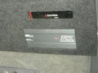 Установка усилителя MTX RT60.4 в Toyota Land Cruiser 120