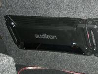 Установка усилителя Audison SR 4 в Renault Logan