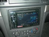 Фотография установки магнитолы Pioneer AVH-1400DVD в Chevrolet Epica