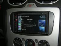 Фотография установки магнитолы Pioneer AVIC-F930BT в Ford Focus 2