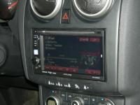 Фотография установки магнитолы Alpine IVE-W530BT в Nissan Qashqai