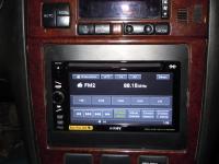Фотография установки магнитолы Sony XAV-E60 в Nissan Maxima