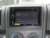 Фотография установки магнитолы Sony XAV-E60 в Peugeot Boxer