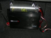 Установка усилителя MB Quart FX1.600 в Subaru Outback (BP)