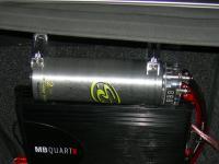 Установка Sound Quest CAP2M в Subaru Outback (BP)