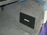 Установка усилителя Eton ECC 500.4 в Toyota Corolla X