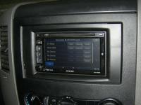 Фотография установки магнитолы Alpine INE-W920R в Volkswagen Crafter