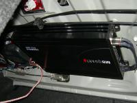 Установка усилителя MB Quart FX1.600 в Honda Civic 4D