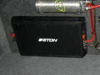 Установка усилителя Eton ECC 500.4 в Mitsubishi Lancer
