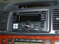 Фотография установки магнитолы Alpine CDE-W235BT в Toyota Camry