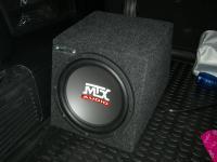 Установка сабвуфера MTX RT10-04 box в SsangYong Rexton