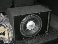 Установка сабвуфера JBL GT5-12 vented box в UAZ Patriot