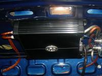 Установка усилителя DLS XM20 в Hyundai Accent