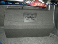 Установка сабвуфера Sony XS-GTX121LT в Hyundai Accent