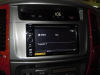 Фотография установки магнитолы Sony XAV-E60 в Toyota Land Cruiser 100