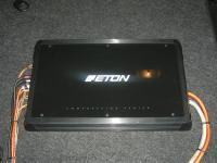 Установка усилителя Eton ECC 500.4 в Peugeot 307