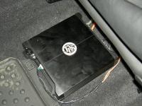 Установка усилителя DLS XM20 в Mini Cooper