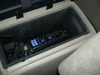 Фотография установки магнитолы Alpine CDA-117Ri в Nissan Murano