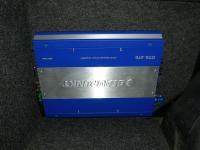Установка усилителя Blaupunkt GTA 470 в Nissan Note