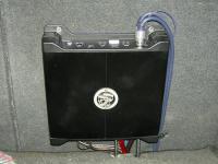 Установка усилителя DLS XM20 в Toyota Caldina