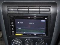 Фотография установки магнитолы Sony XAV-E60 в Skoda Octavia (A4)