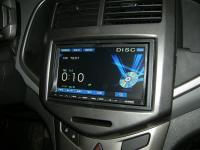 Фотография установки магнитолы Alpine IVA-W520R в Chevrolet Aveo T300