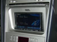 Фотография установки магнитолы Alpine INA-W910R в Lincoln Navigator