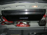 Установка усилителя Eton ECC 500.4 в Volkswagen Polo V