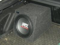 Установка сабвуфера MTX RT10-04 box в Ford Focus 3